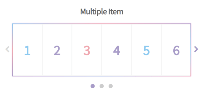 Mobile-friendly Carousel Scroller In Pure JS - Glider.js