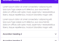 Smooth Accordion With Details Disclosure Element