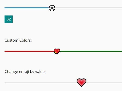Awesome Range Slider With Emoji Thumb – emoji-slider