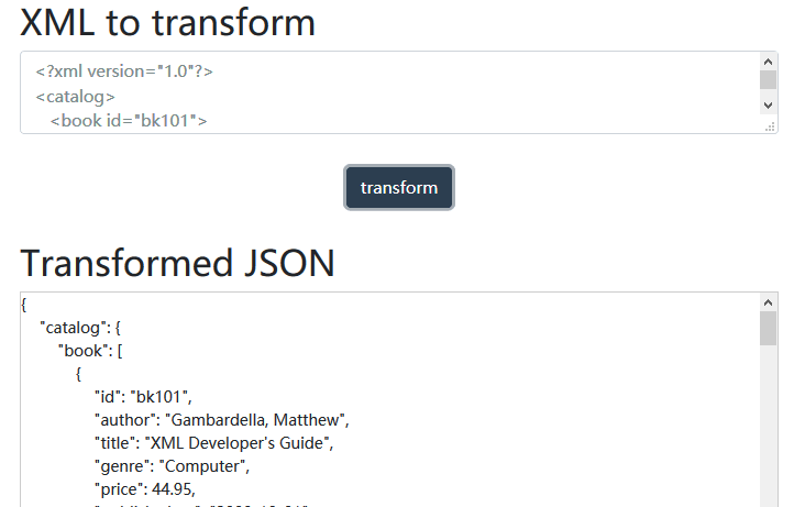 Convert XML To JSON With Pure JavaScript – xmlToJson