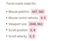 Detect Something Changes In The Viewport - Tornis