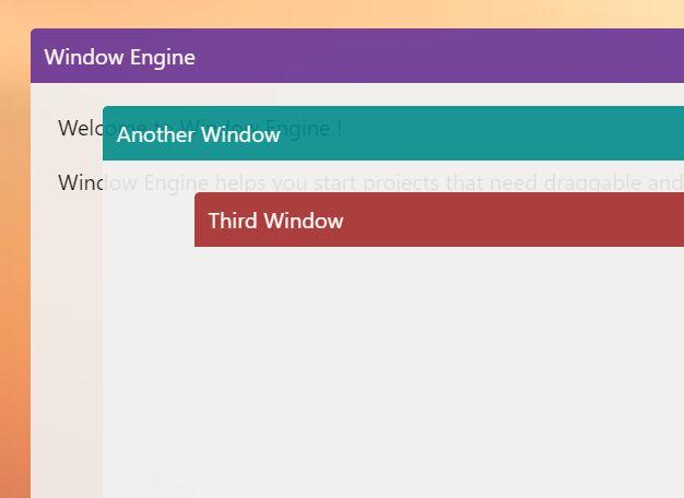 Lightweight Draggable Popup Window In Vanilla JavaScript – Window Engine