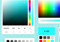 Powerful Color Picker Components In Pure JavaScript - Colorpicker.Pro