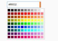Select Color From A Preset Palette - LA Color Picker