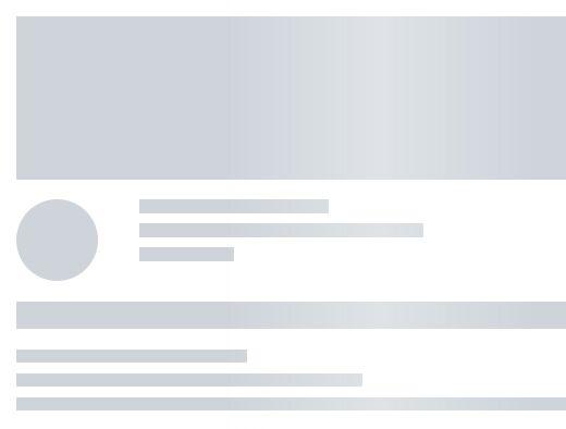 Facebook Inspired Skeleton Loader In Pure CSS – Placeholder Loading