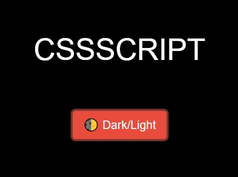 Minimal JS Implementation Of The Dark Mode On The Webpage