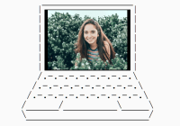 CSS Only Laptop Device Template