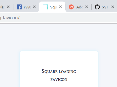 Display Loading Status As A Favicon
