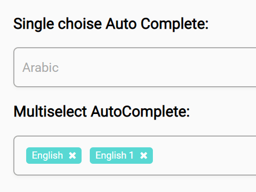 Dynamic Single/Multi Select With Autocomplete – MultiSelect2