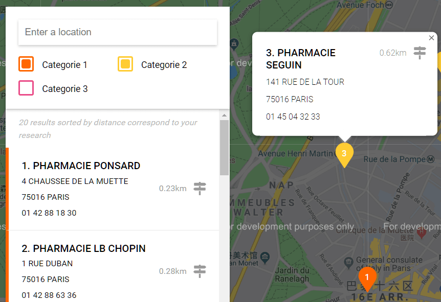Create A Store Locator Using Google Maps API – storelocatorjs