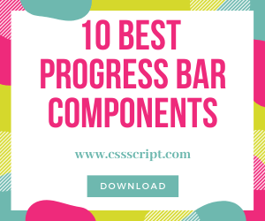 10 Best JavaScript & CSS Progress Bar Components