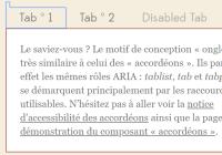 WAI-ARIA Tabs & Accordion Plugin In JavaScript - tablist
