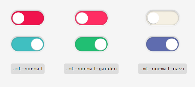 MoreToggles.css Normal Switches