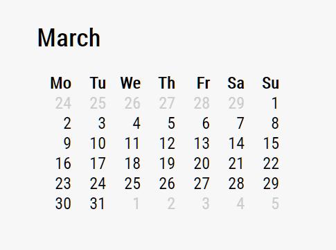 Developer-friendly Calendar Generator In JavaScript – Calendar Base