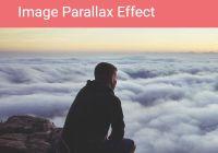 Minimal Image Parallax Scroll Effect In JavaScript - Parallax.js