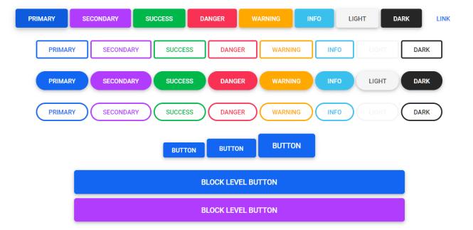 MDB 5 Buttons