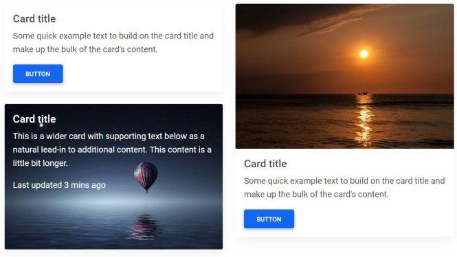 MDB 5 Cards