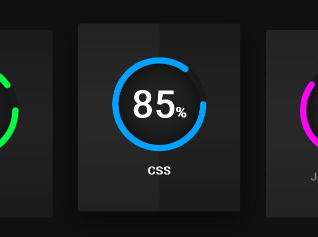 Smooth Circle Progress Indicator In SVG And CSS