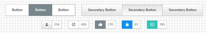 Punica CSS Framework Buttons