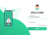 Responsive Beautiful Login Page Template