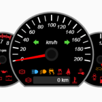 Create Realistic Car Dashboard With JavaScript And Canvas – Speedometer.js