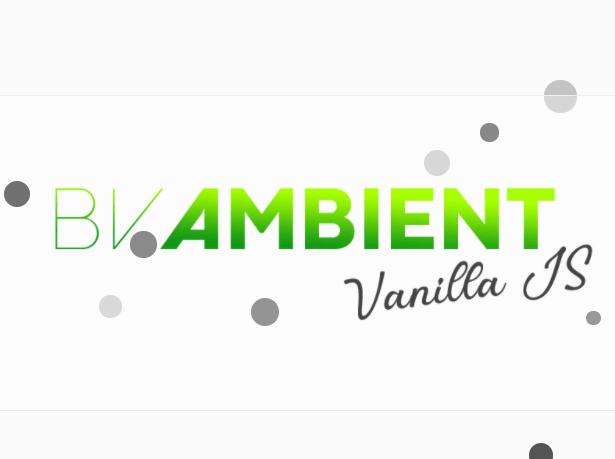 Customized & Responsive Particles Background In JavaScript – BVAmbient