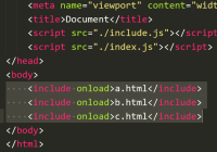 Include External HTML Into Your Pages - include.js