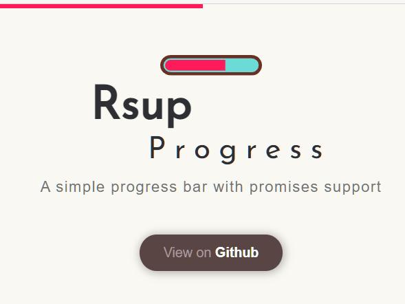 Rsup Progress