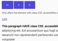 Increase & Decrease Font Size To Improve Page Accessibility - Accessibility.js