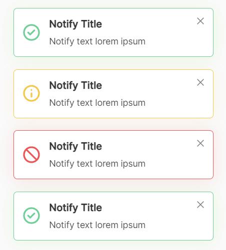 JavaScript Plugin For Custom Toast Notifications – Simple Notify