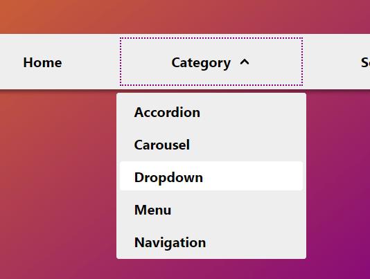 Accessible Dropdown Nav With Vanilla JavaScript – Clicky Menus