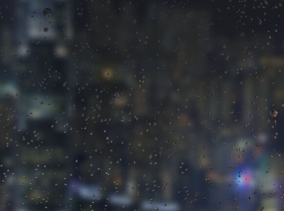 Realistic Raindrops On Glass Effect Using JavaScript – rainyday.js