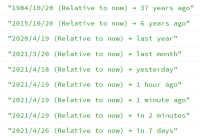 Convert Timestamp To User-friendly Format - relative-time.js