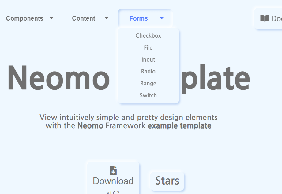 Neomorphism Design Framework – neomo