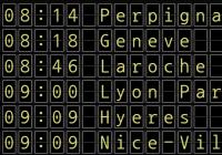 Split Flap Text Effect In JavaScript - Ticker Board