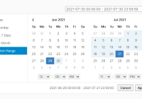 User-friendly Date Range Picker With Predefined Date Ranges