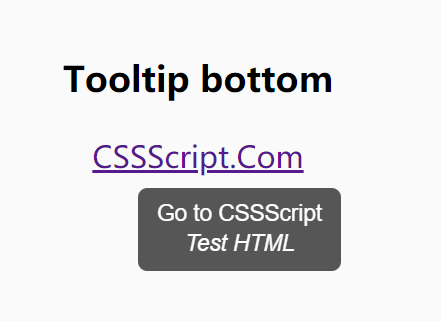 Minimal Rich Text Tooltip JavaScript Library – Creativa Tooltip