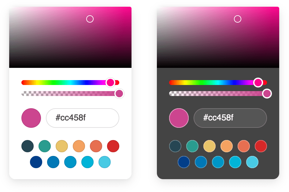 Accessible Color Picker