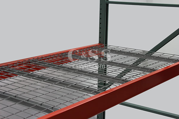 pallet rack wire mesh decking