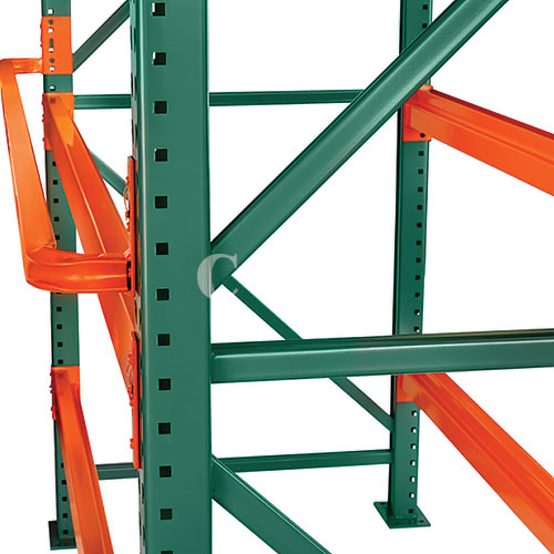 pallet rack column protectors