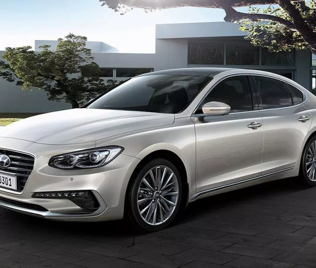 World Market Redesigned Hyundai Azera Oem Jpg