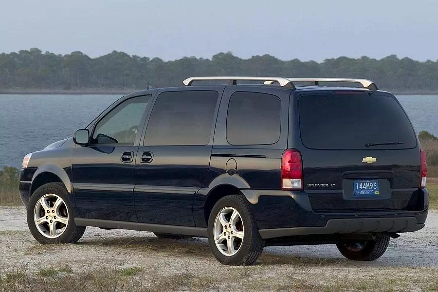 Chevrolet Uplander Specs Pictures Trims Colors