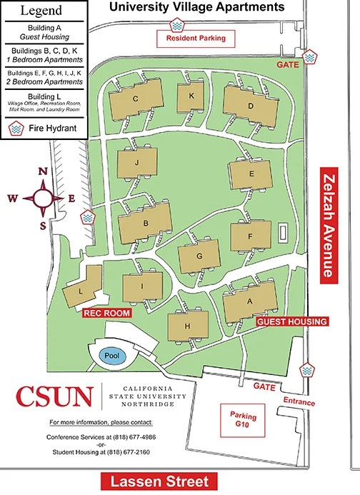 Maps Parking And Links California State University