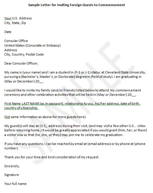 Sample Of Invitation Letter To Us Embassy for beautiful invitation ideas
