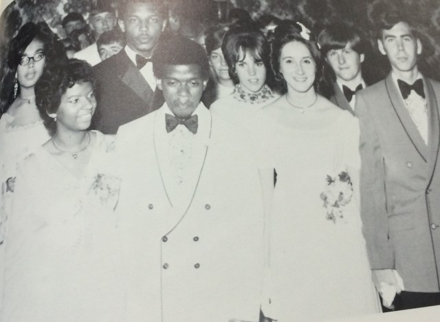 """The March"" at Rindge Technical School's 1970 prom"