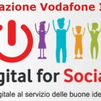 """""""Digital for social"""": dalla Fondazione Vodafone 1,5 milioni di euro per digitalizzare il Terzo Settore"""