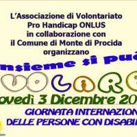 """""""Insieme si può volare"""", evento dell'associazione """"Pro Handicap"""" a Monte di Procida"""