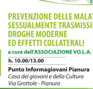 Malattie sessualmente trasmissibili e droghe moderne. Napoli 8 marzo, Pianura.