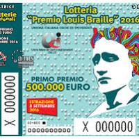 Torna la Lotteria Premio Louis Braille