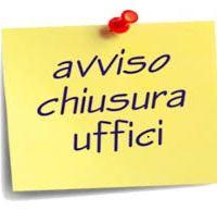 Chiusura uffici CSV Napoli